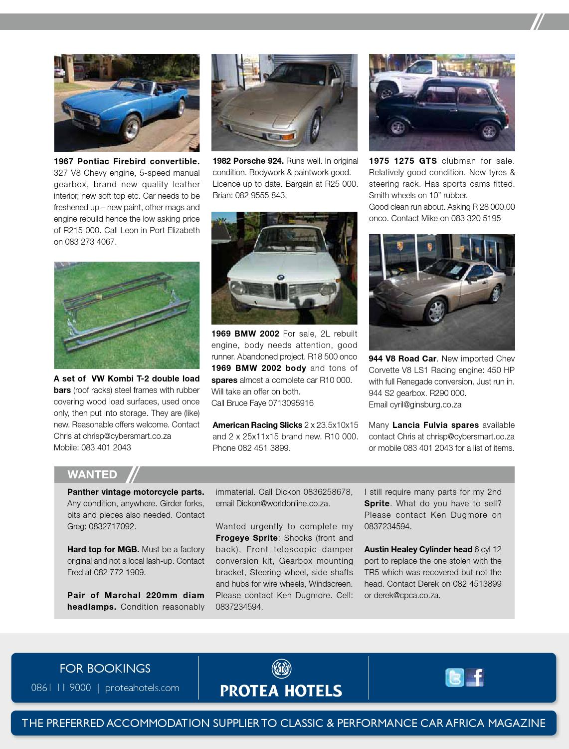 Classic & Performance Car Africa Aug/Sept 2013 by classic