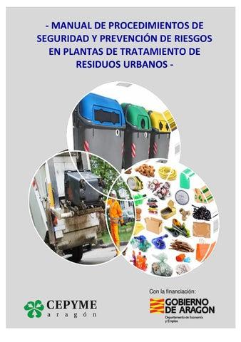 Manual de procedimientos de seguridad y prevención de riesgos en ... 568121a95dd