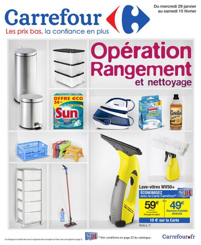 Catalogue Carrefour - 29.01-15.02.2014 By Joe Monroe - Issuu