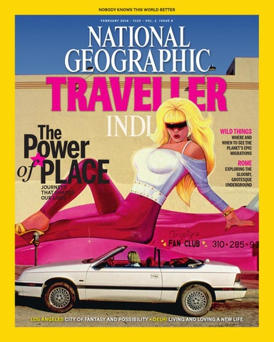 National Geographic Traveller India february 2014 by National