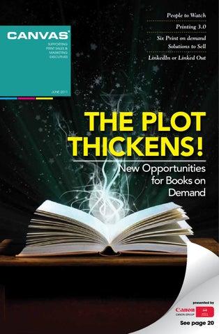 Canvas Magazine | The Plot Thickens! by CANVAS Magazine - issuu