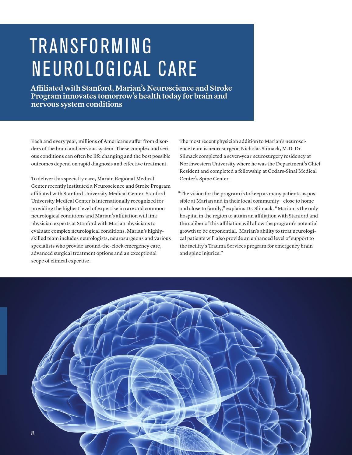Innovations Magazine | Winter 2014 | Marian Regional Medical Center