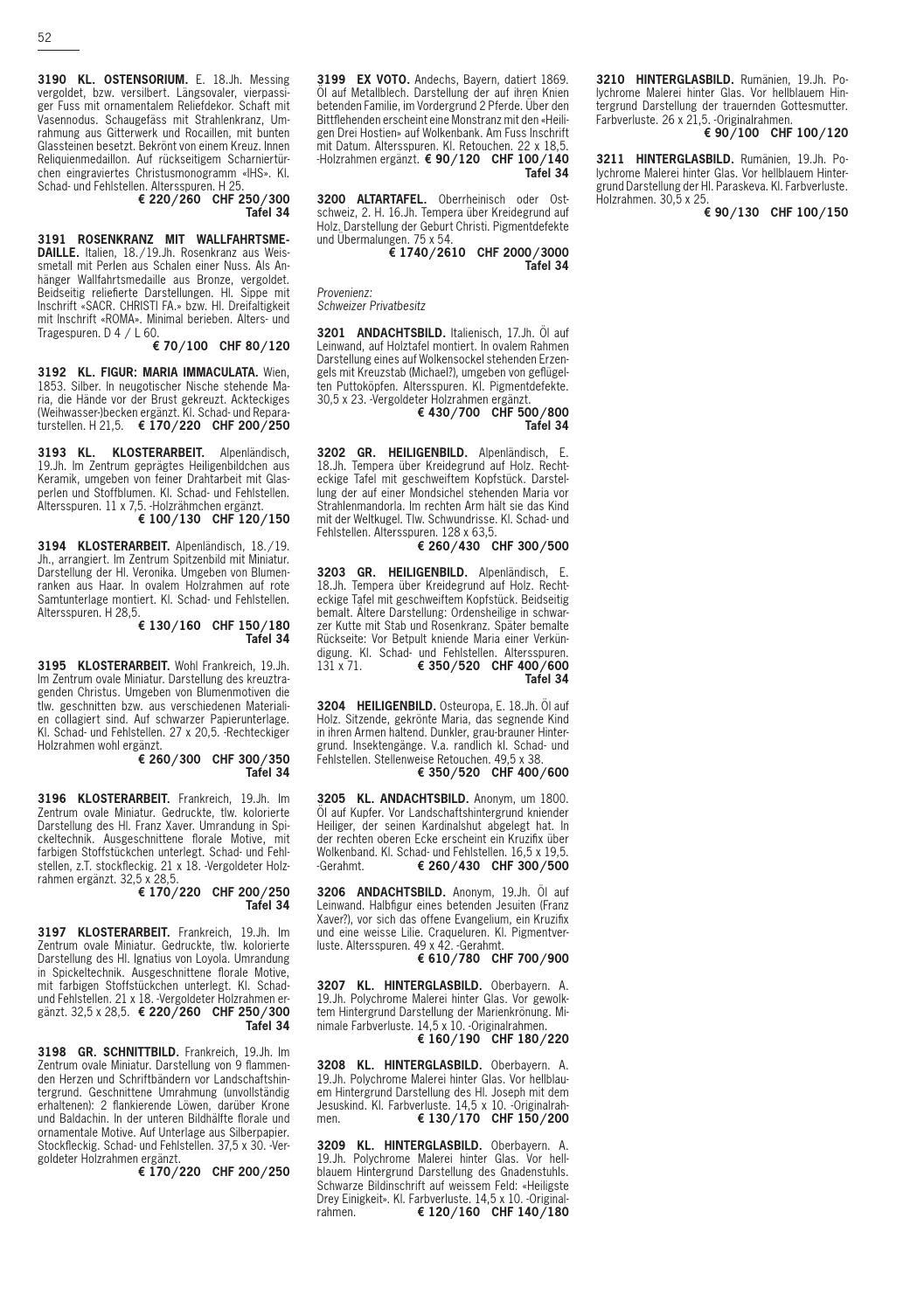 Schuler > Auktionskatalog by Urs Matter - issuu