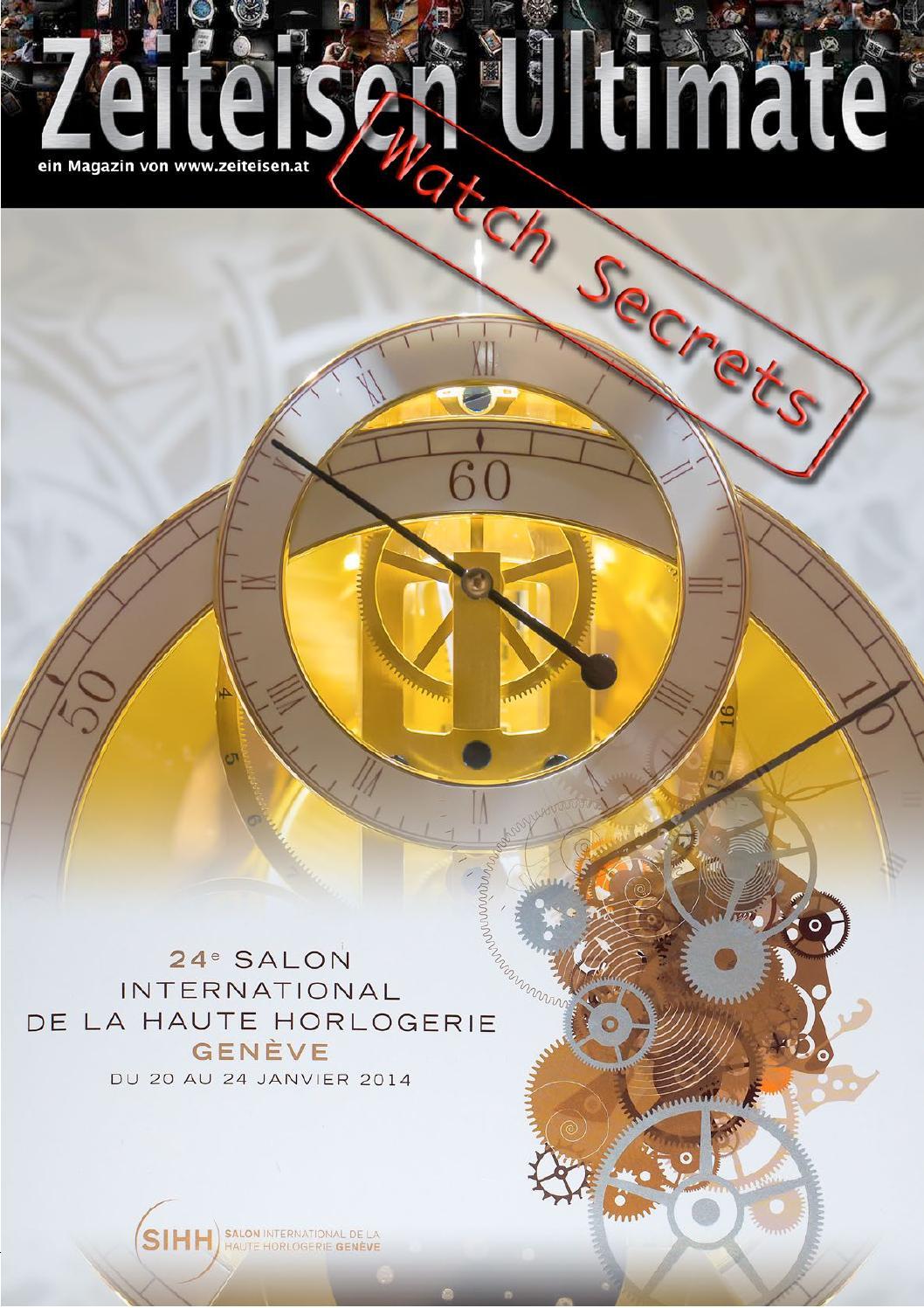 Zeiteisen Ultimate Watch Secrets - SIHH 2014 by Association ...