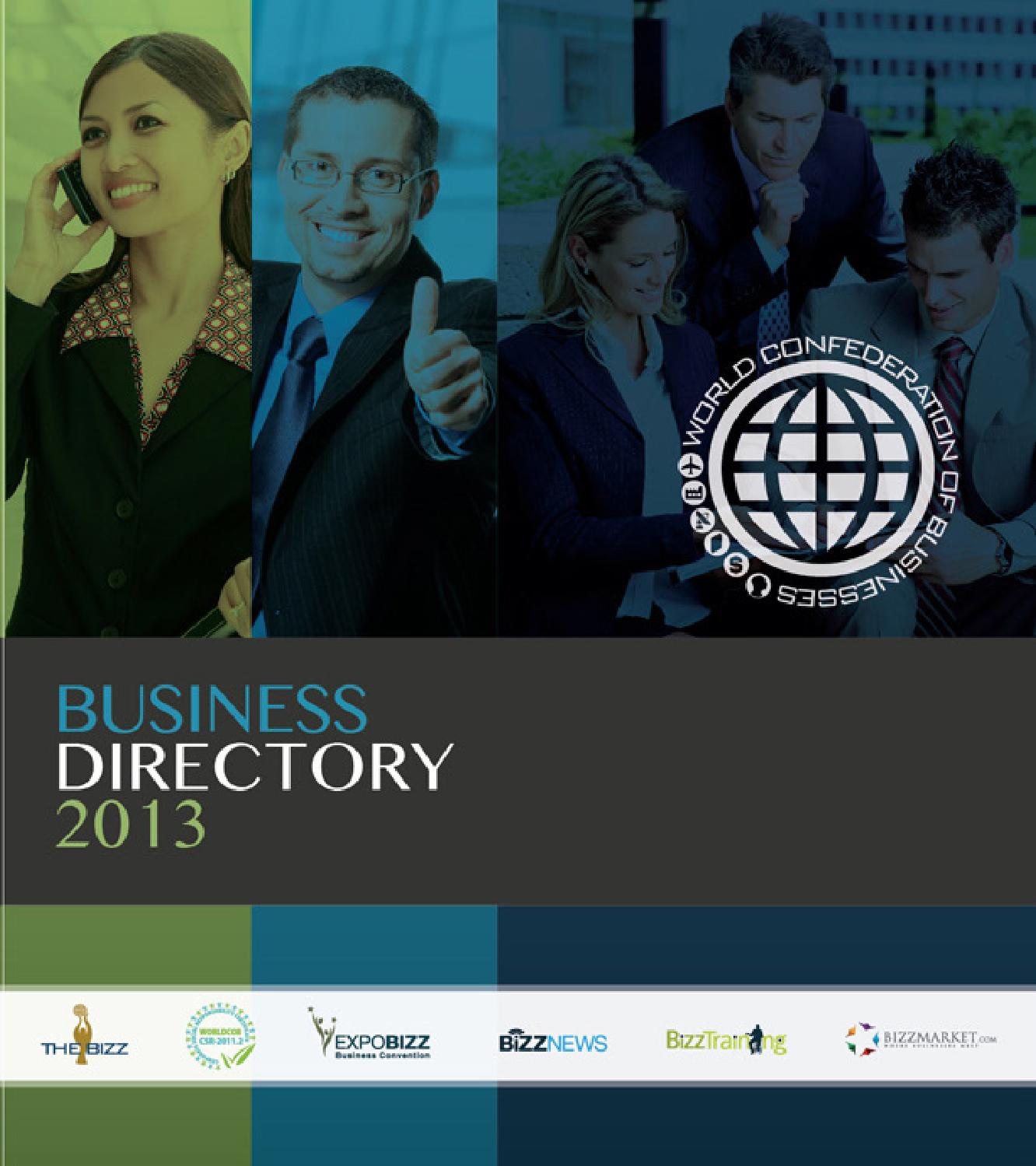 DirectoryWORLDCOB2013 by World Confederation of Businesses - issuu