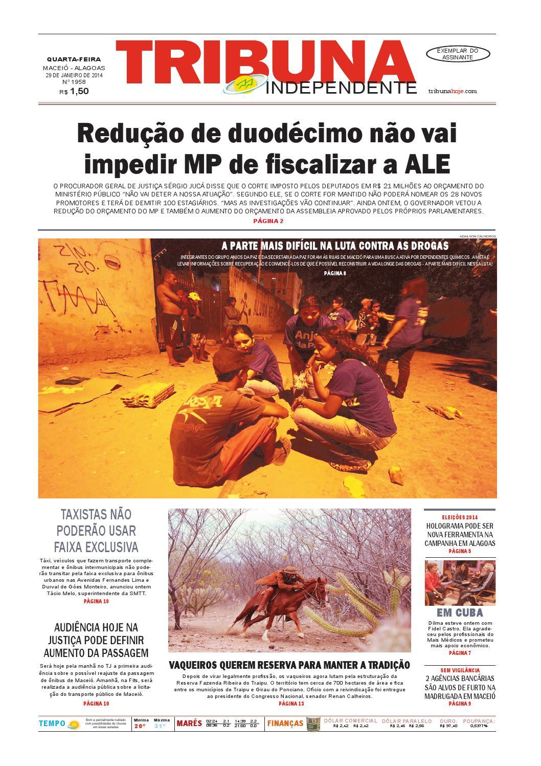 1459ea03a0105 Edição número 1958 - 29 de janeiro de 2014 by Tribuna Hoje - issuu