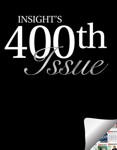 be6aff3280 Insight 400th Issue by Magazines byDesign - issuu