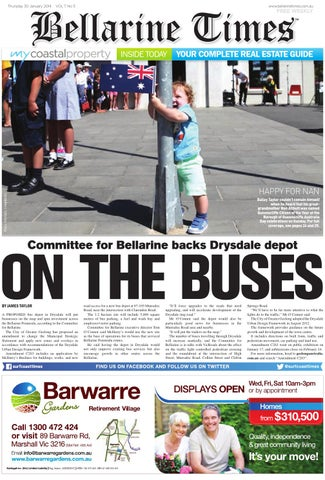 55e5c26db5 Bellarine Times January 30 Edition by Surf Coast News Australia Pty ...