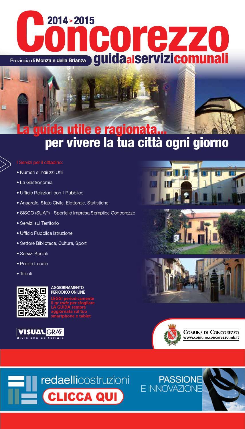 Immobiliare Sant Andrea Concorezzo concorezzo guida 2014-2015 by visualgraf - issuu