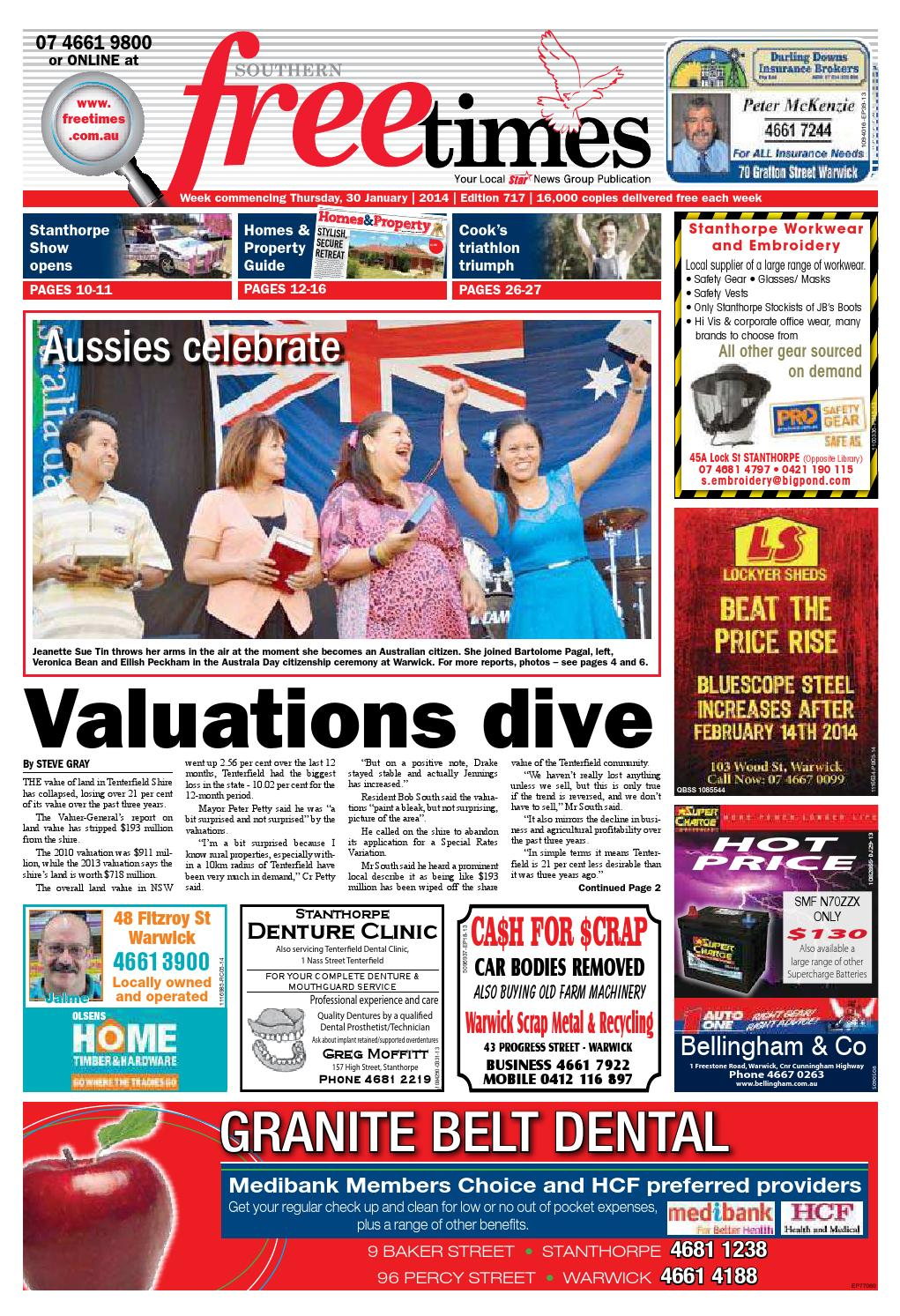 Southern Free Times 30th January 2016
