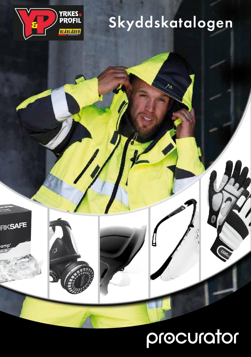 0f9e403a0d7 Procurator skyddskatalogen by Yrkes & Profilkläder - issuu