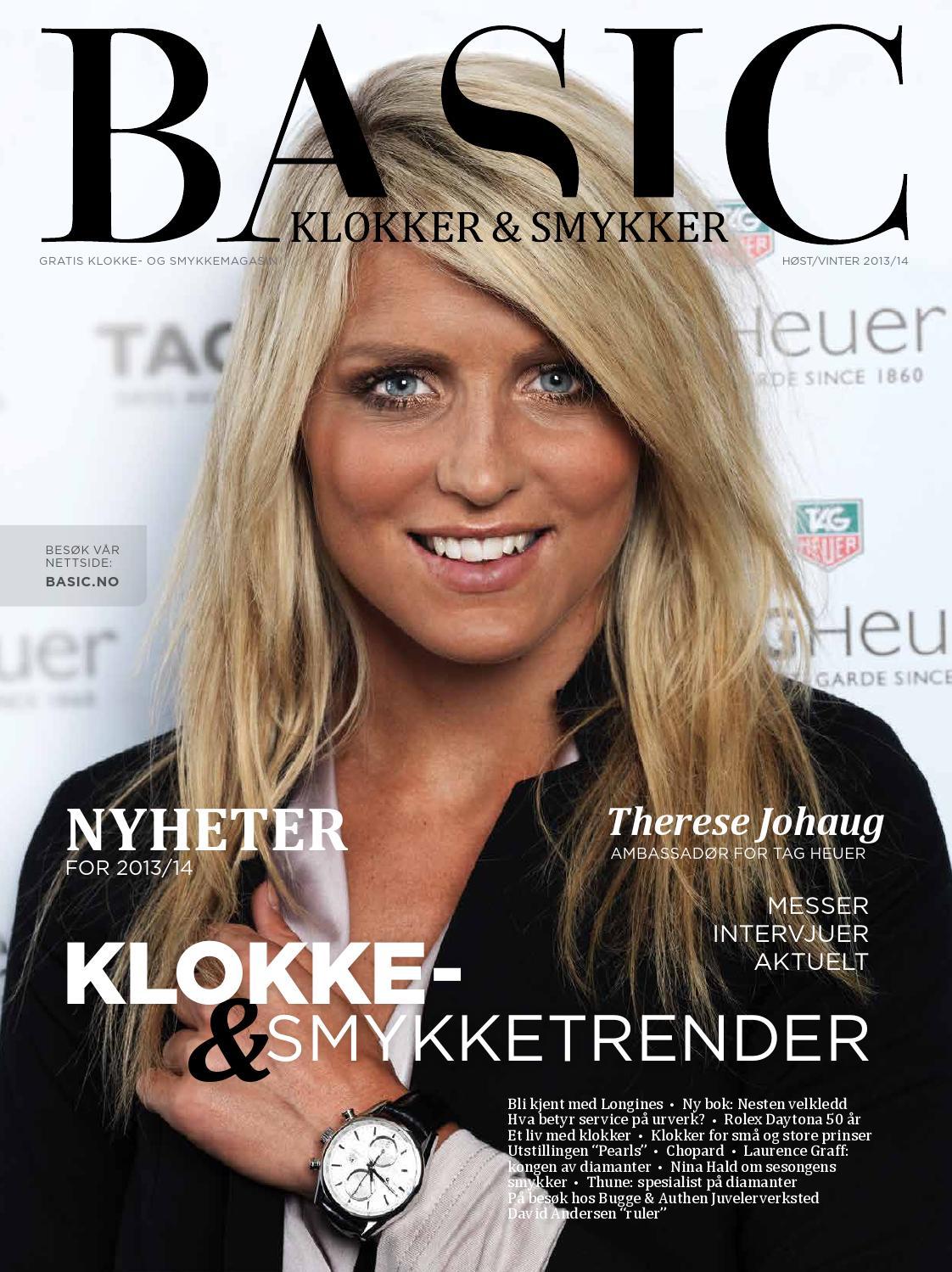 c68485dd Basic Klokker & Smykker vinter 13/14 by Basic Magasiner - issuu