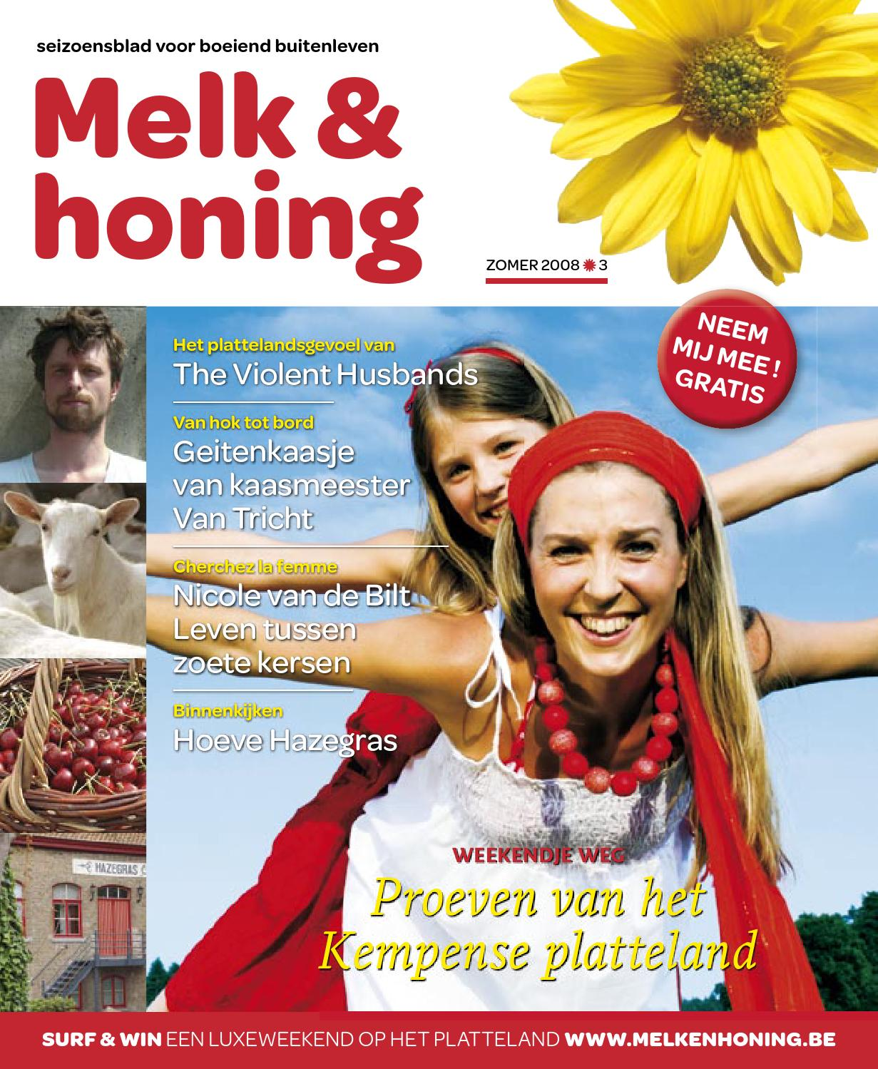 Melk Honing Zomer 2008 By Vilt Issuu
