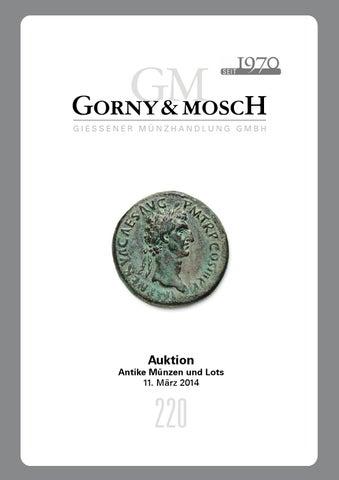 Gorny Mosch Auktionskatalog 220 By Gorny Mosch Giessener