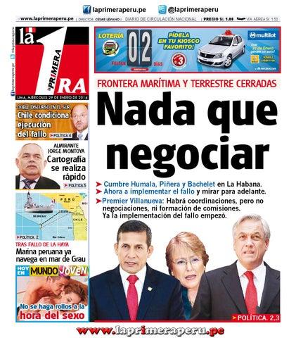 Diario La Primera - 29 Enero 2014 by Diario UNO - Lima Perú - issuu 8b750868f6f