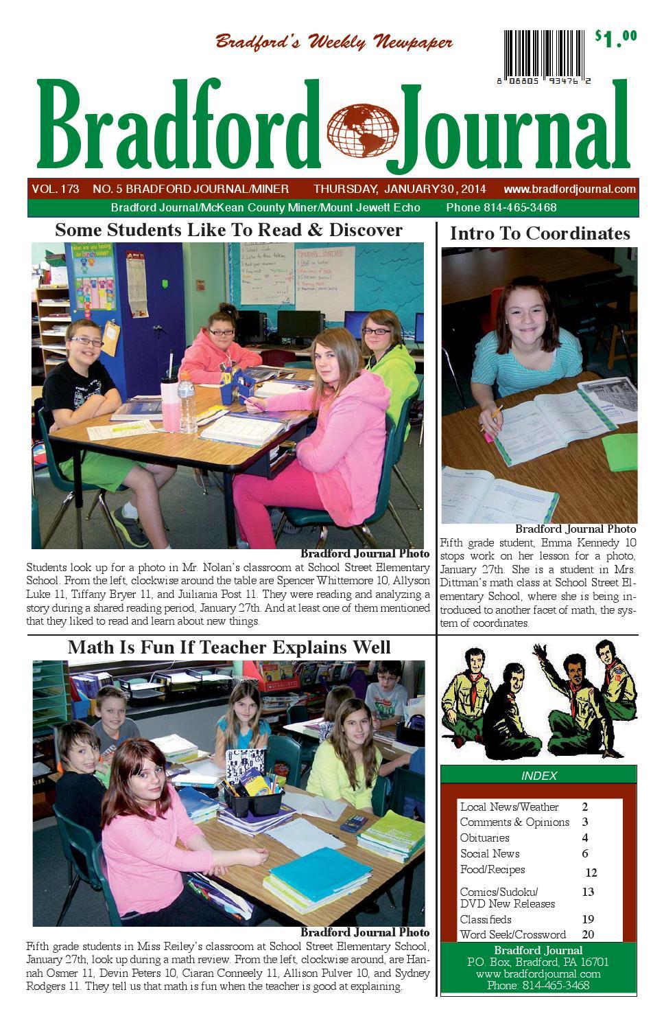 Bradfordjournalcolorissue1 30 14e by Bradford Journal - issuu