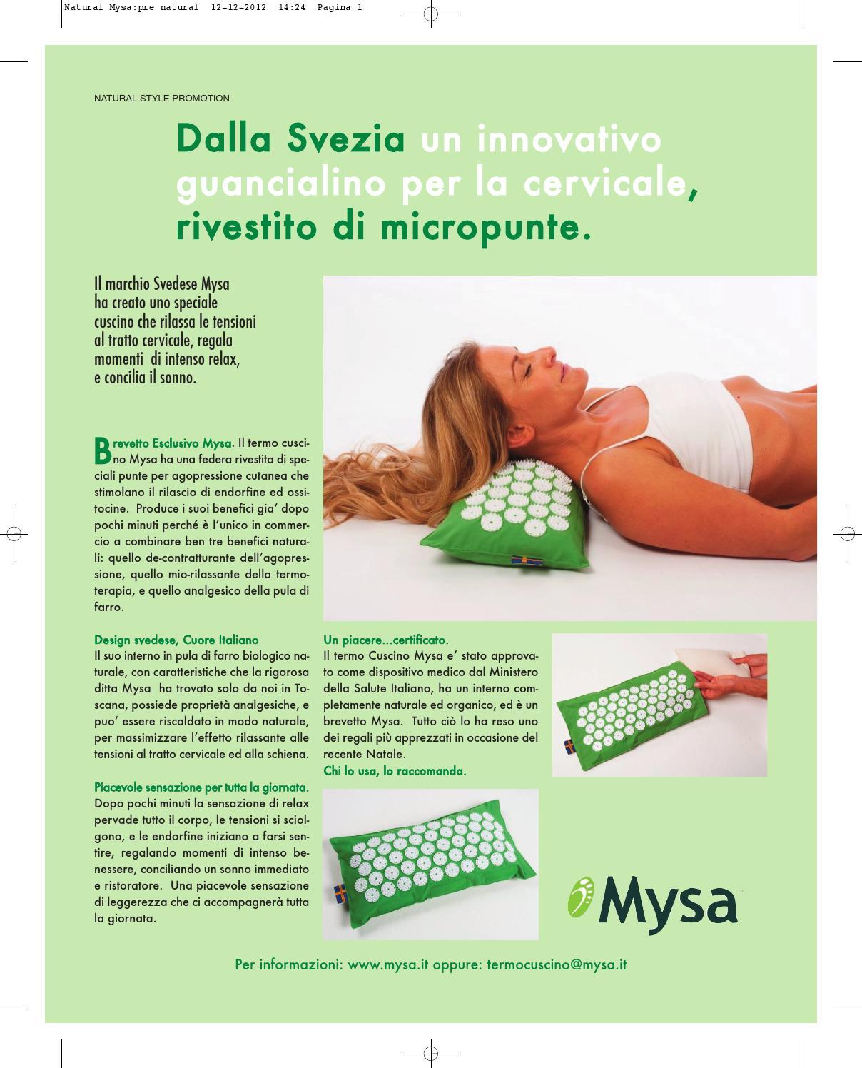 Cuscino Per La Cervicale Mysa.Mysa Cuscino Agopressione Cervicale Riscaldabile By Annika Tappetino