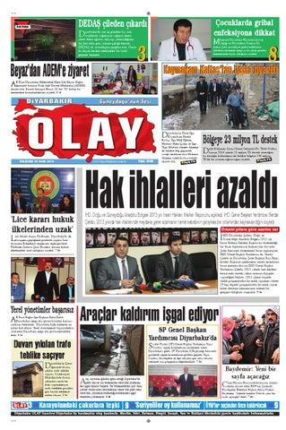 30 01 2014 Gazete Sayfalari By Diyarbakir Olaygazetesi Issuu