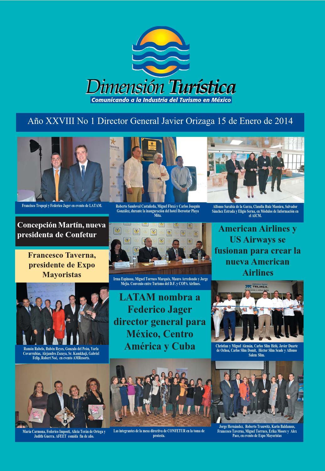 Revista Dimension Turistica Enero 2014 by Orizaga dturistica - issuu
