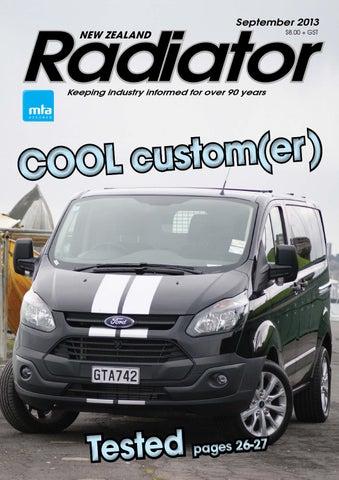 Radiator – September 2013
