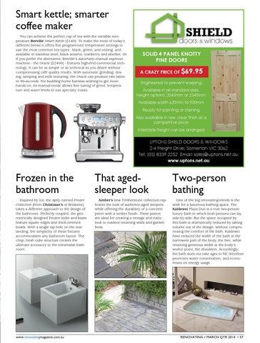 foto de Issue 92 NSW Edition by RenovatingMagazine - issuu