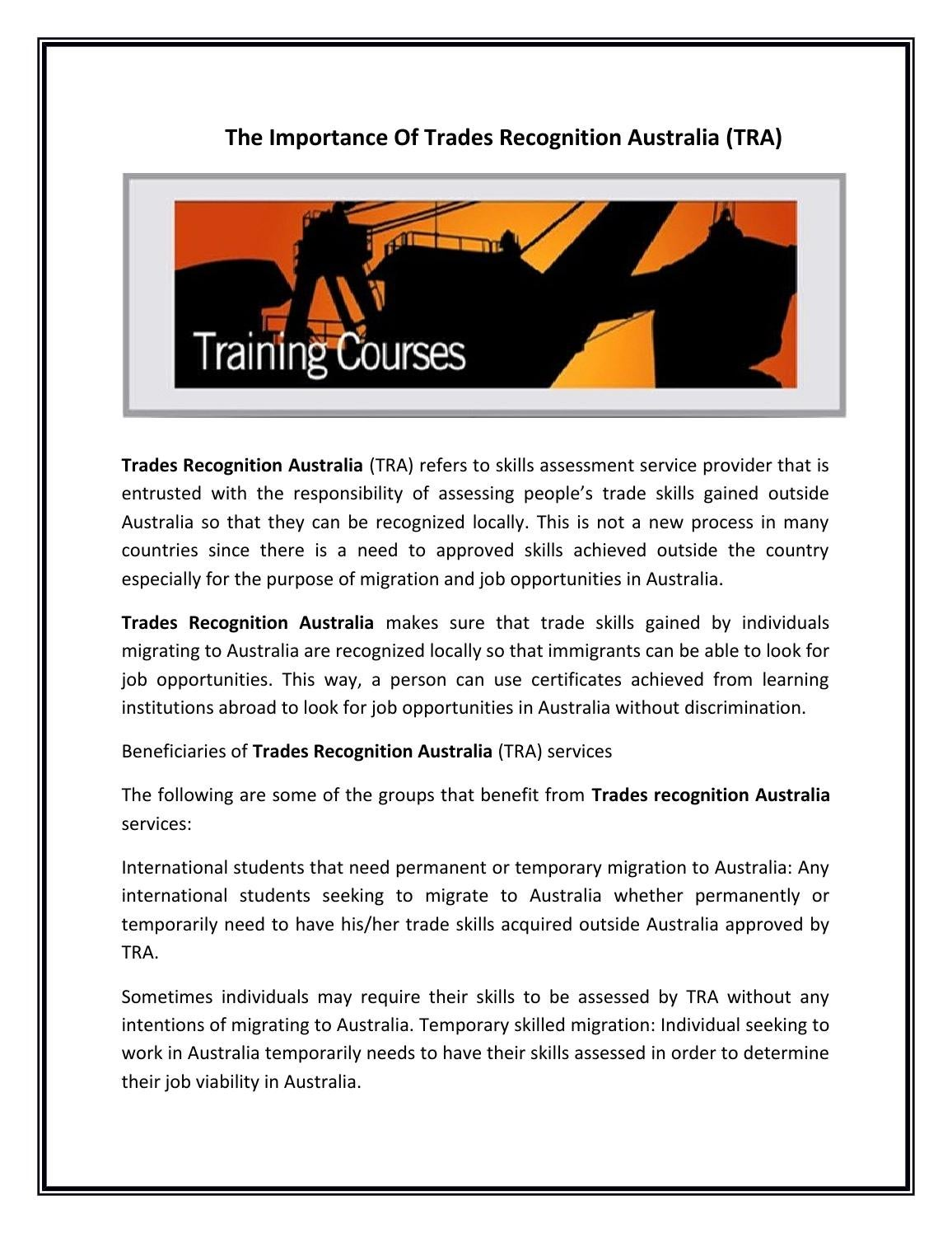 the importance of international trade to australia The benefits that can be identified with reference to international trade are as follows: international trade allows countries to exchange good and services with the use of money as a medium of exchange the benefits of international trade have been the major drivers of growth for the last half of.
