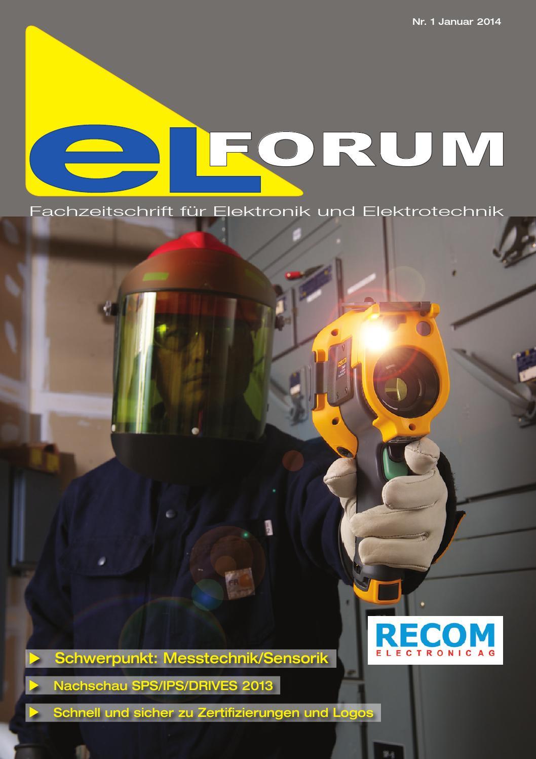 Elforum 01 2014 by LZ Fachverlag - issuu