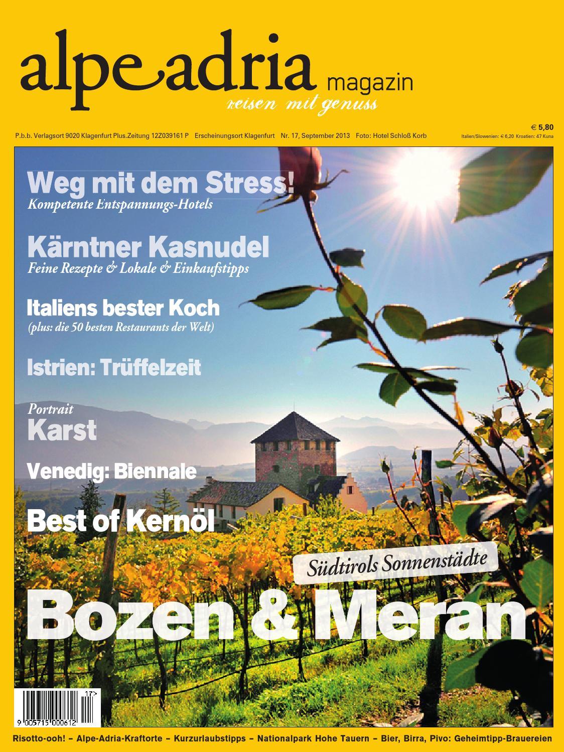 Alpe Adria Magazin Nr. 17 09/2013 by Bundesländerinnen - issuu