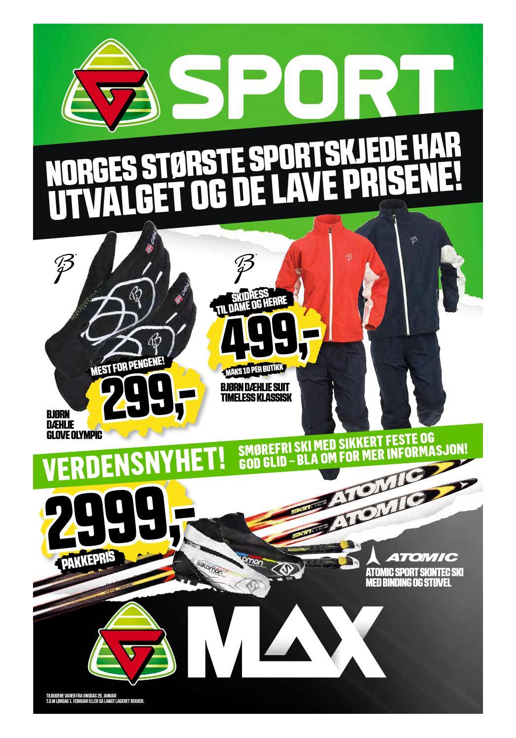 promo code 301a9 c2b4f G sport max uke 5 by Storo Storsenter - issuu