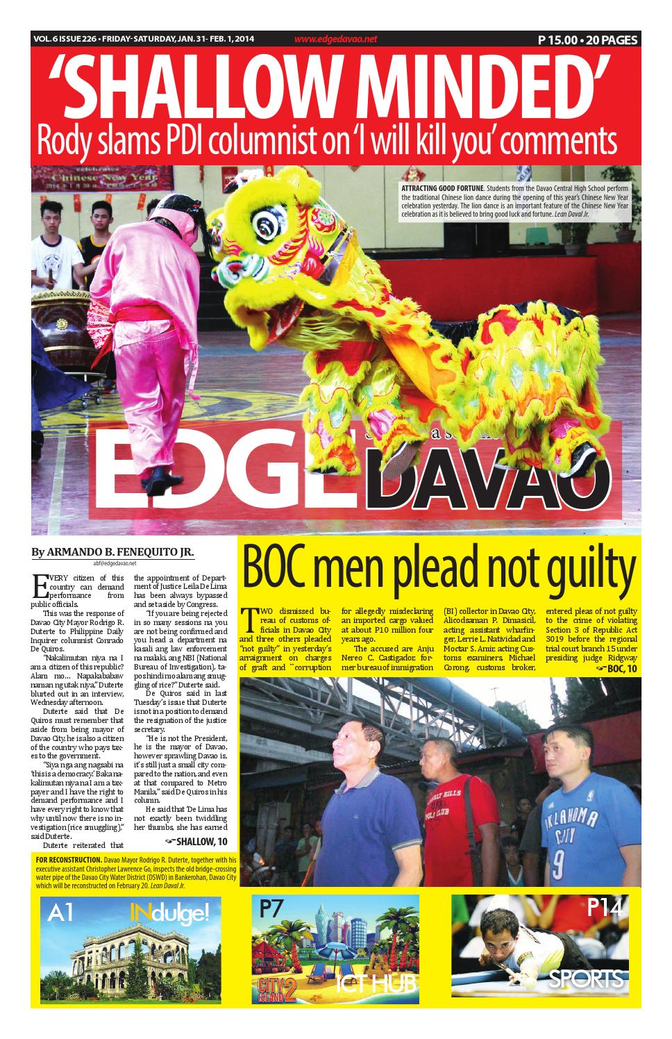 Edge Davao 6 Issue 226 By