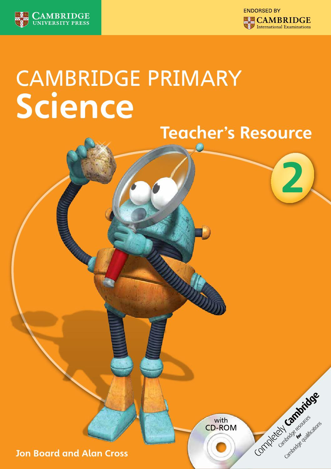 cambridge primary science teacher 39 s resource book 2 with cd rom by cambridge university press. Black Bedroom Furniture Sets. Home Design Ideas