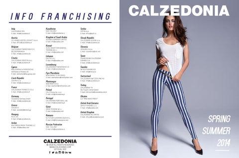 Calczedoniq catalogo primavera estate2014 by ...