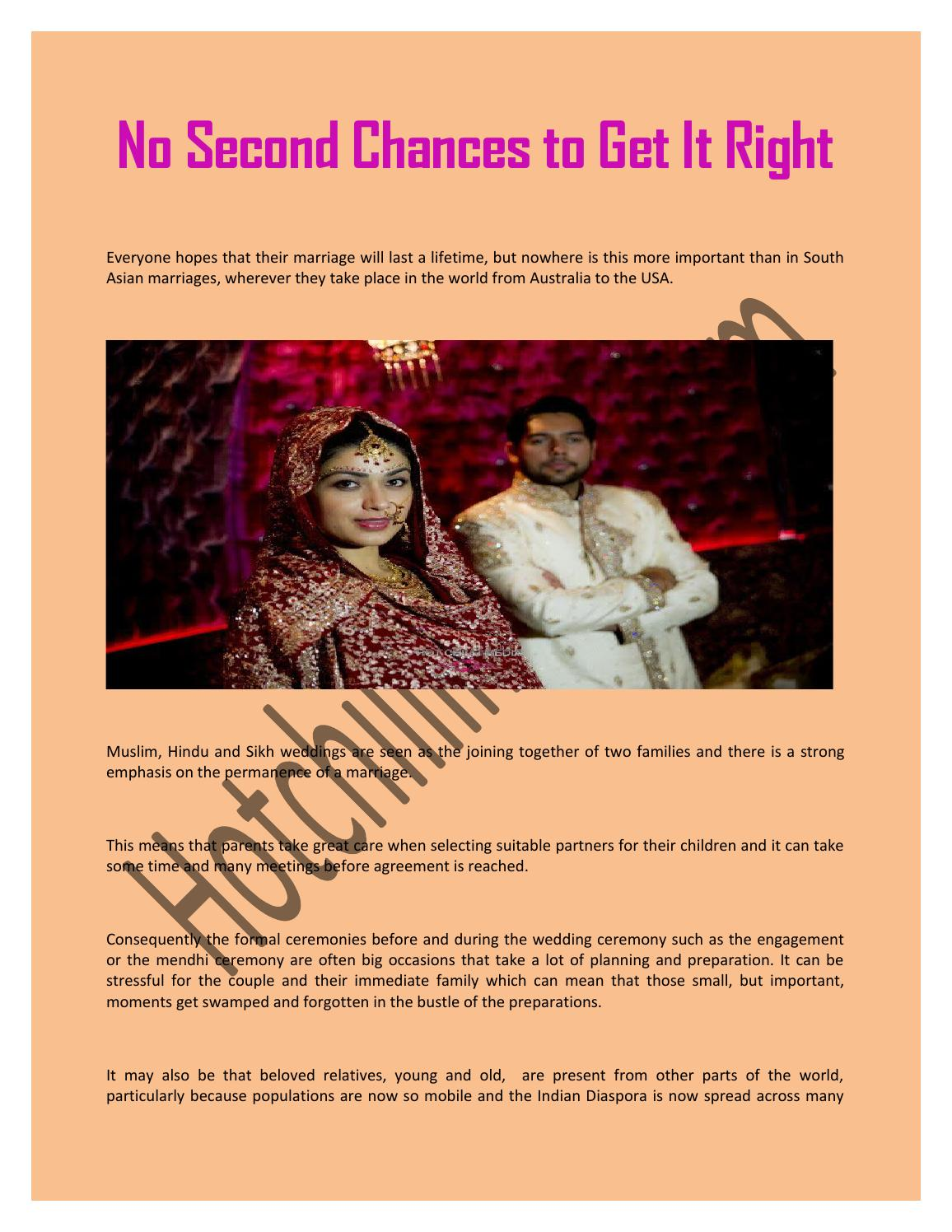 No Second Chances to Get It Right by hotchillimedia - issuu