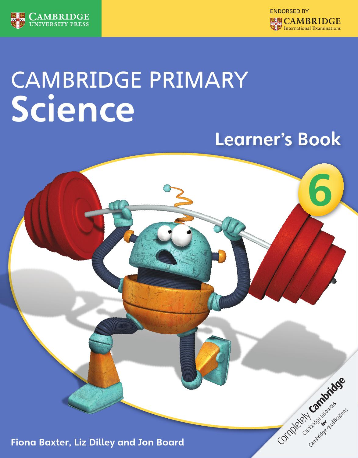 cambridge science primary stage learners learner international textbook books education baxter fiona amazon collins english booklist sciences skills cie flip