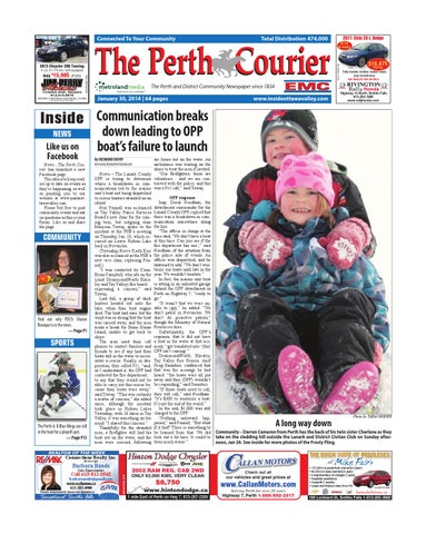 Perth013014 by metroland east the perth courier issuu page 1 fandeluxe Gallery