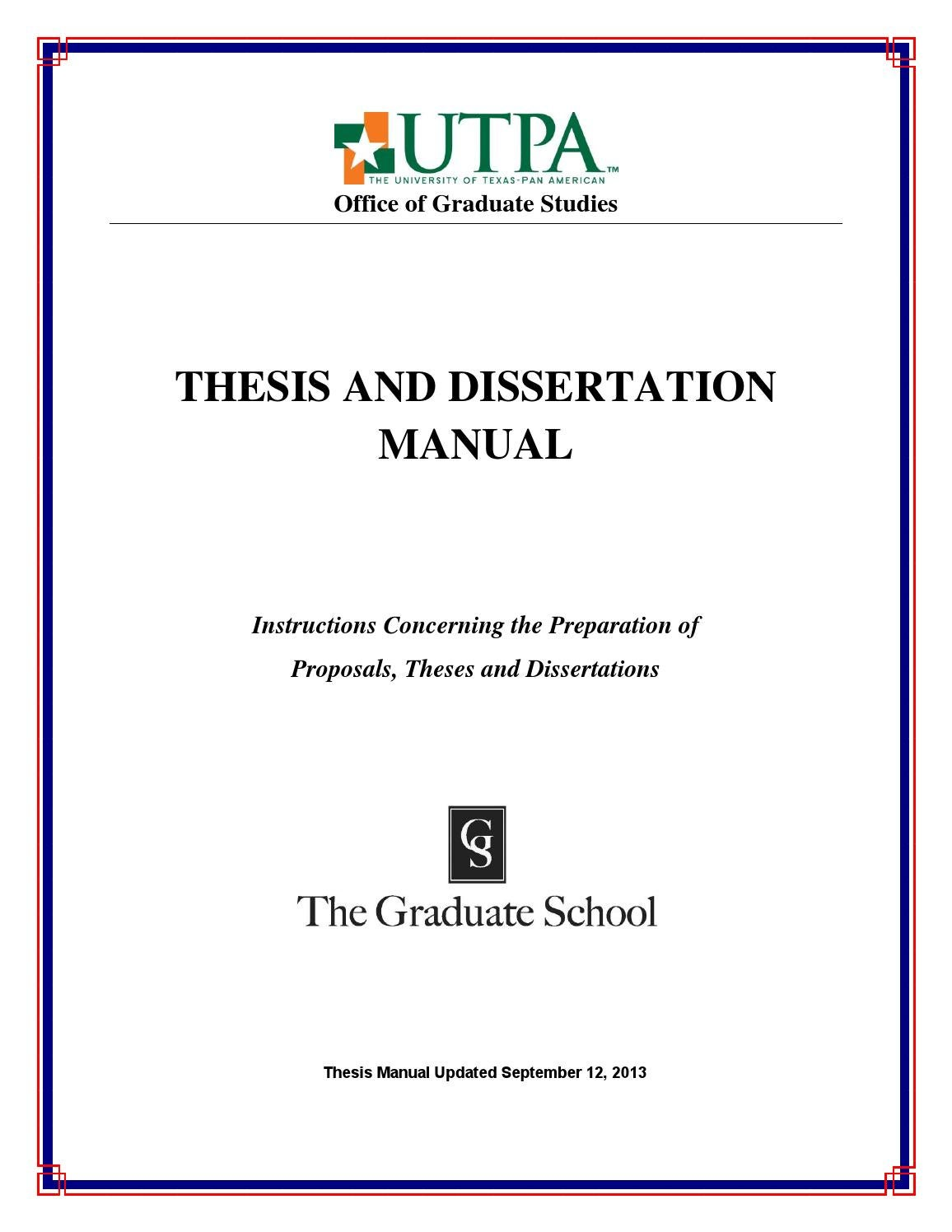 American university masters thesis