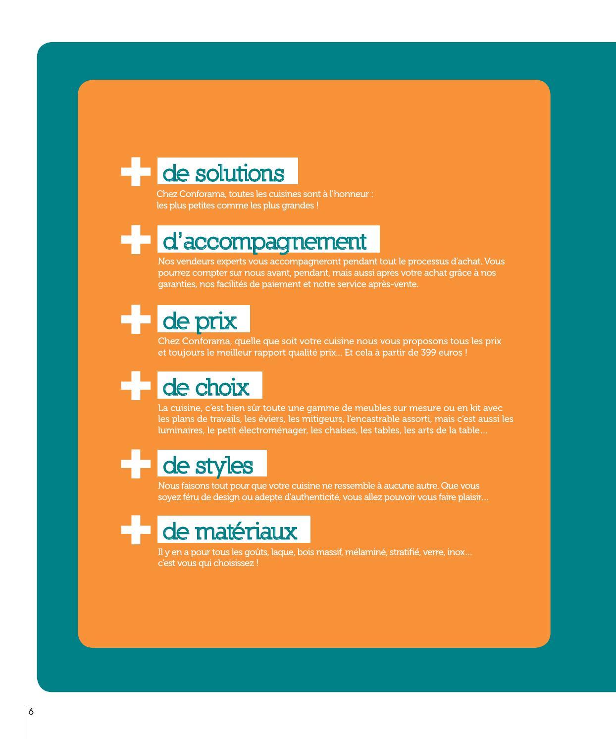 Quelle Cuisine Meilleur Rapport Qualité Prix catalogue conforama - guide cuisines 2014joe monroe - issuu