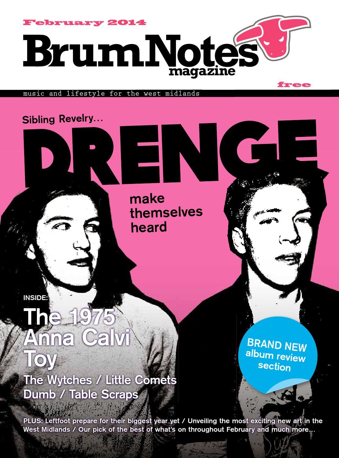 b1dc5991909db9 Brum Notes Magazine - February 2014 by Brum Notes Magazine - issuu