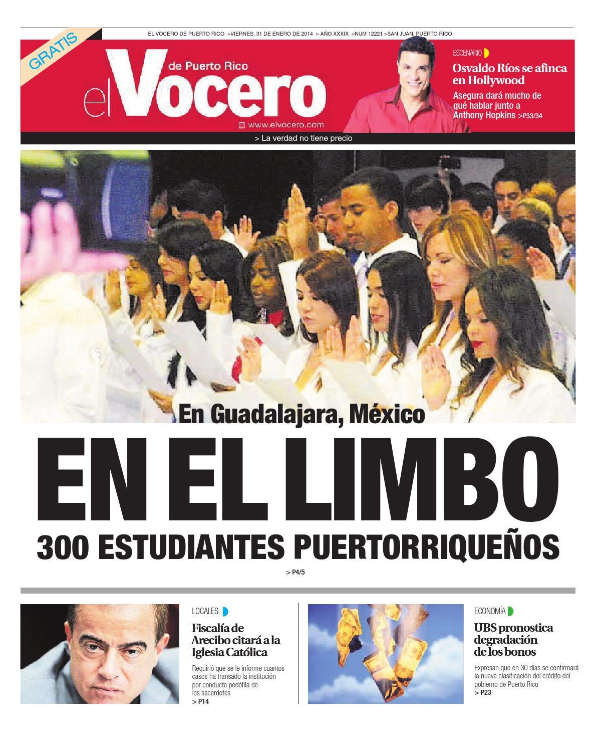 Edición 31 de Enero 2014 by El Vocero de Puerto Rico - issuu b32c74ddd19