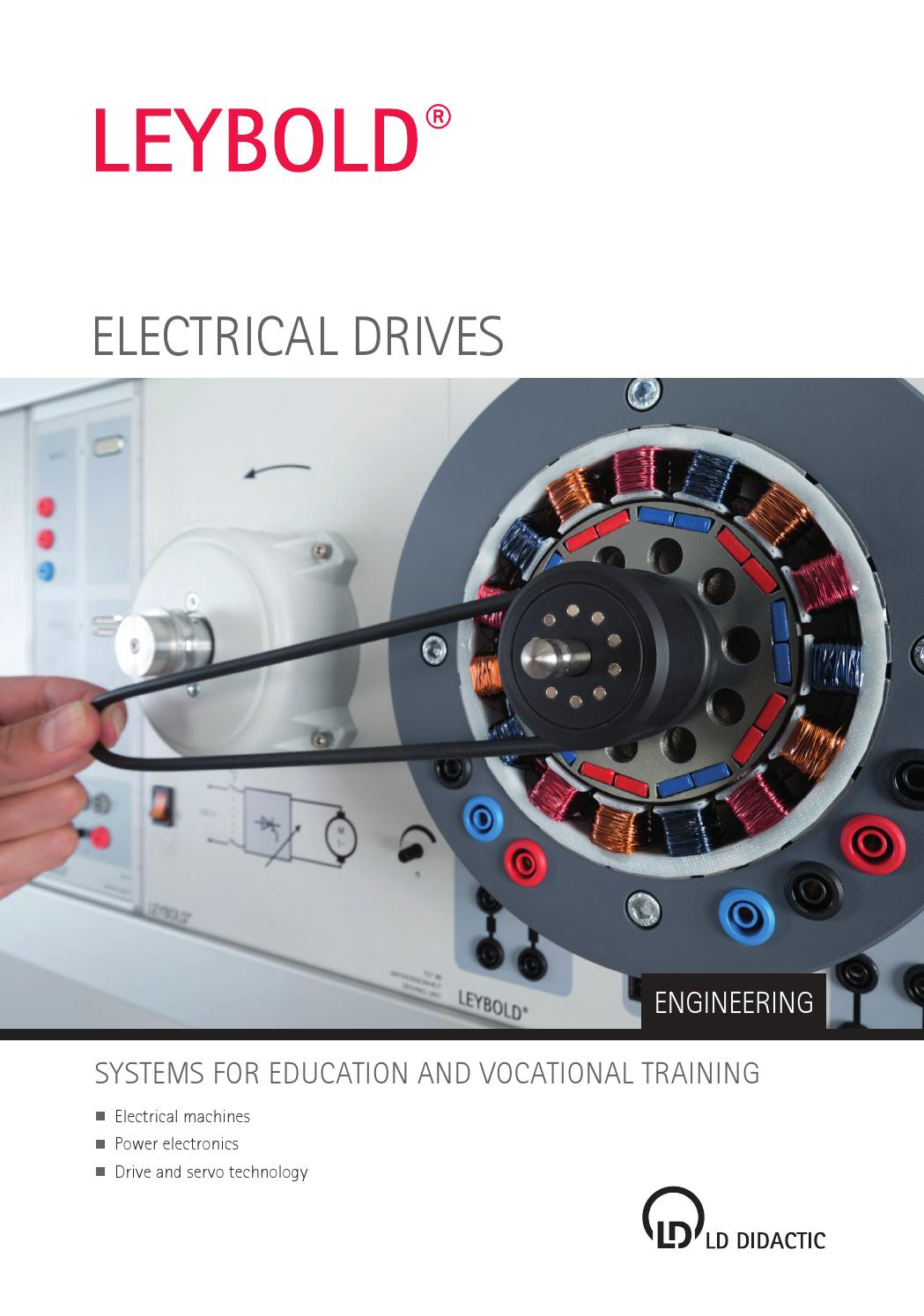 Electrical Drives By Ld Didactic Gmbh Issuu Circuit Breaker Elcb Unit Using Ic 324 Electronic Projects