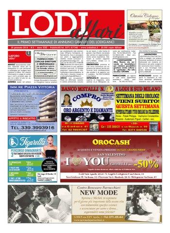 Lodiaffari 30 gennaio 2014 by Lodi Affari - issuu 0d2c8b9a4d9