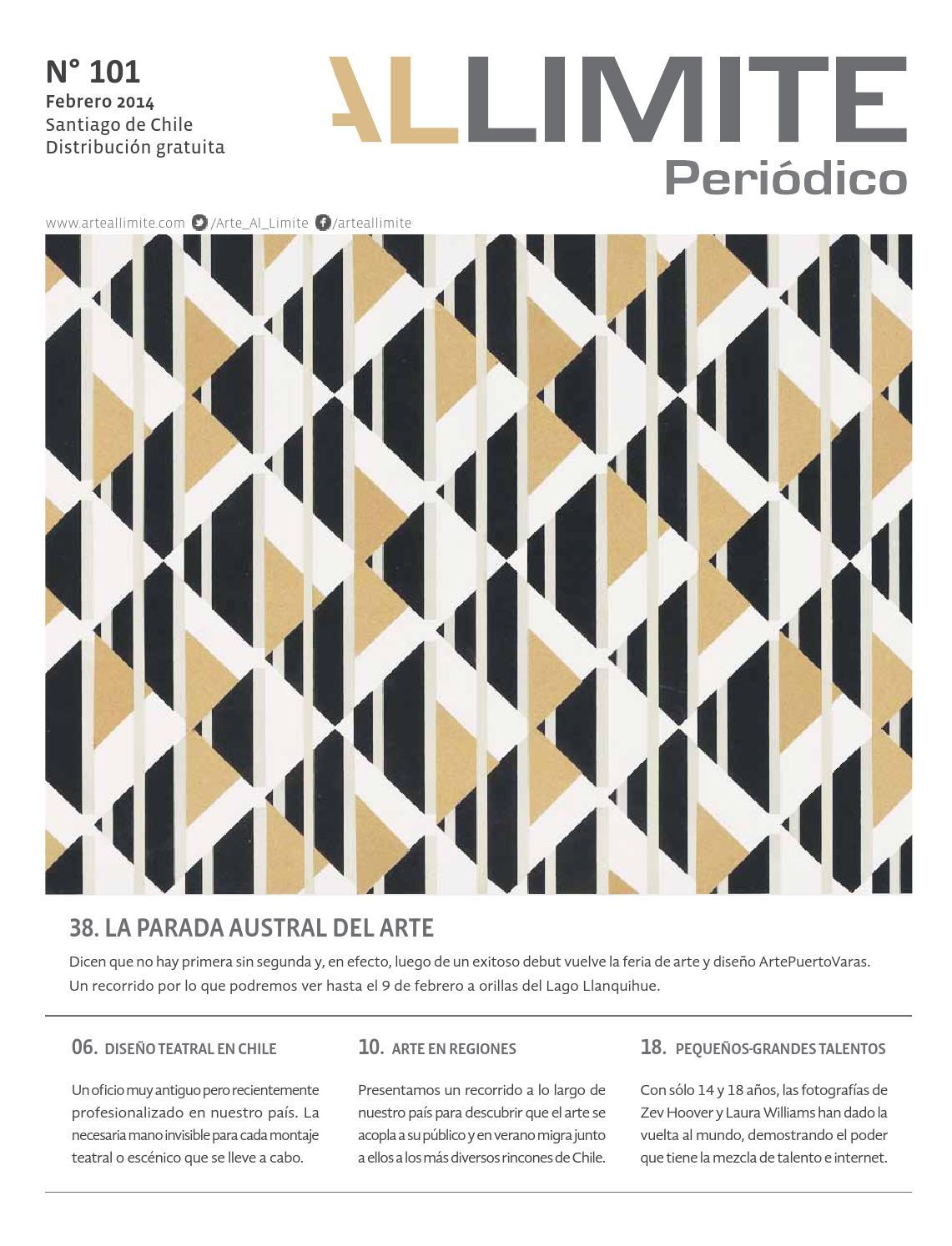 Periódico AAL | Edición 101, febrero 2014 by Arte al Límite - issuu