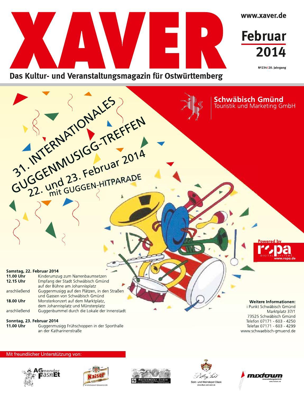 Xaver 02i14 by Hariolf Erhardt - issuu