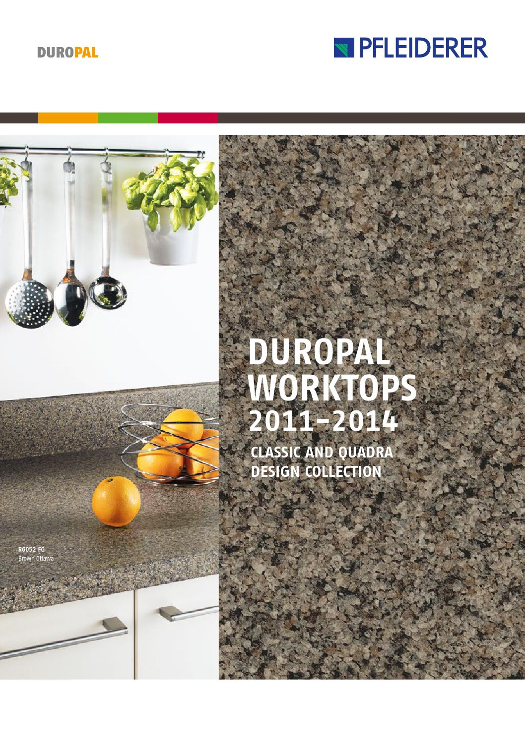 Duropal Worktop Collection Brochure 2011 2014 By Josh Hall