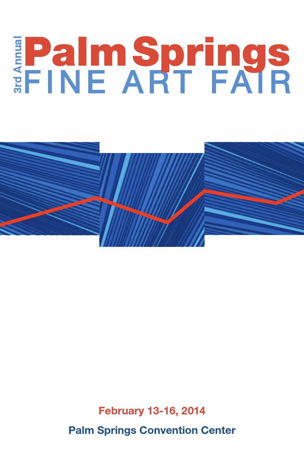 Palm springs fine art fair catalog 2014 by hamptons expo for Palm springs craft fair