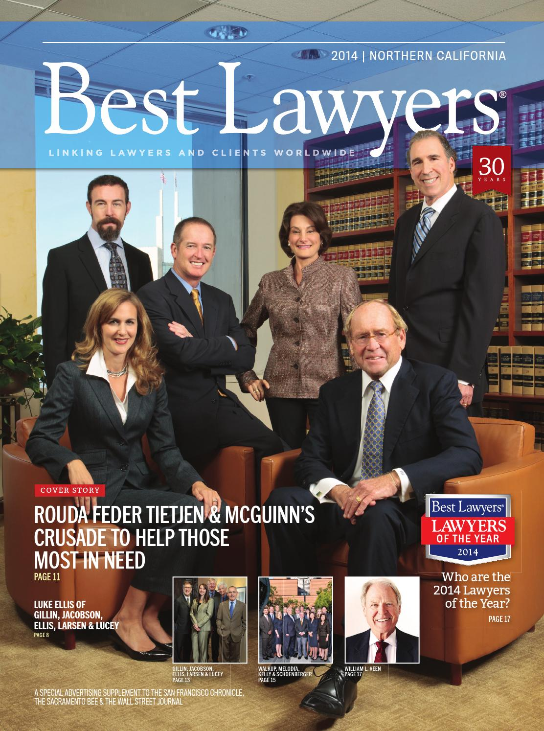 Northern California's Best Lawyers 2014 by Best Lawyers - issuu