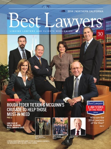 northern californias best lawyers 2014 by best lawyers
