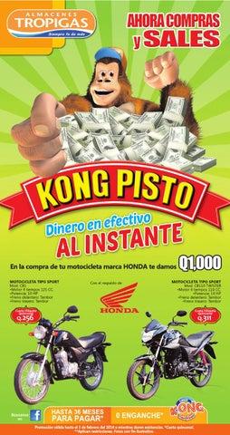 Oferta De Motos Febrero De Almacenes Tropigas Guatemala By