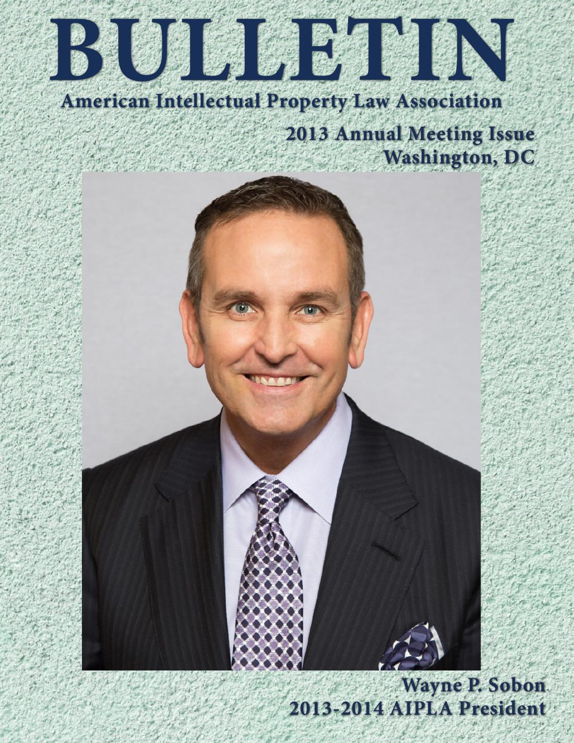 American Intellectual Property Law Association Annual Meeting