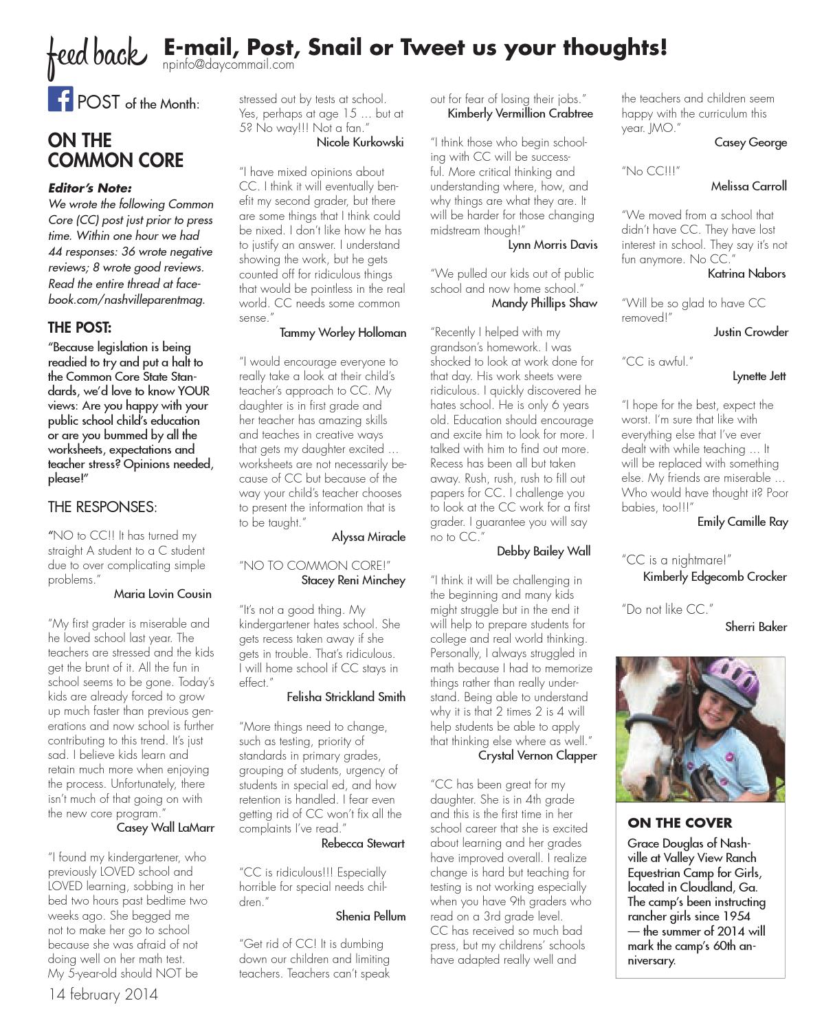 Parents Why Our Second Grader Is Not >> Sumner Parent Feb 14 By Day Communications Daycom Media Issuu